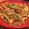 Paneer Blazing Noodles @ Masala Wok, Austin