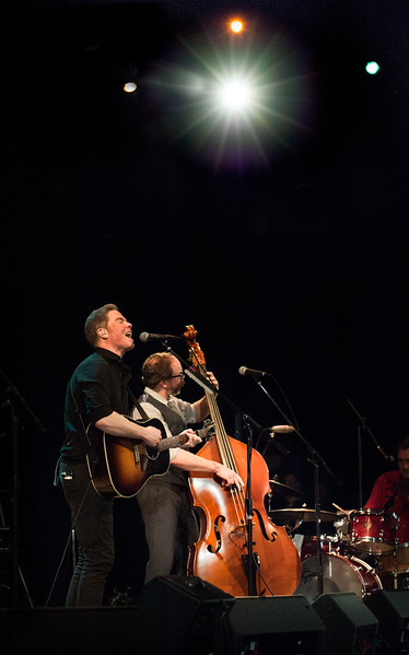 Josh Ritter and the band
