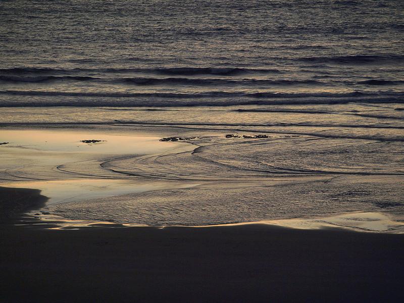 Sunset tide, Newport OR