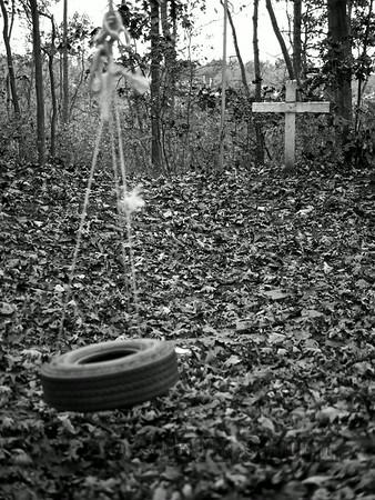 Tire swing. Spotswood, NJ