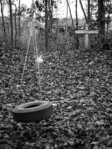 Tire swing. Spotswood, NJ