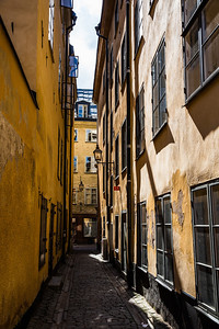 I loved the old, narrow streets of Gamla Stan (old town).