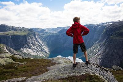Hiking to Trolltunga, Norway