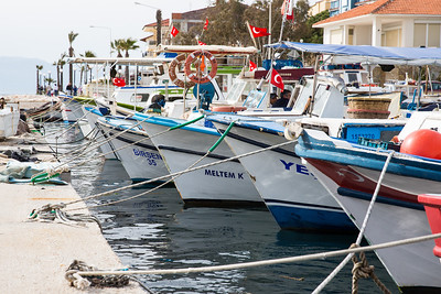 Cesme harbor, Turkey