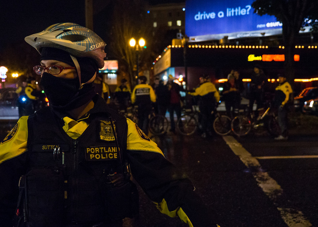 Million Mask March, Portland - November, 5, 2015