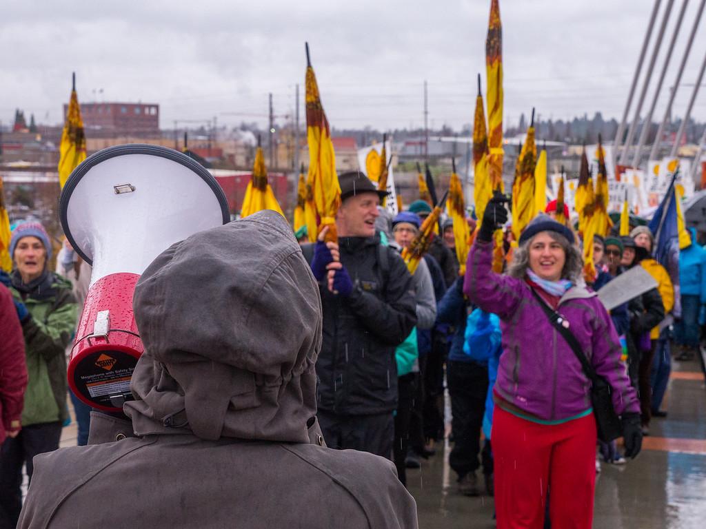 'Road through Paris' Portland March for Climate Justice, Portland - December, 12, 2015