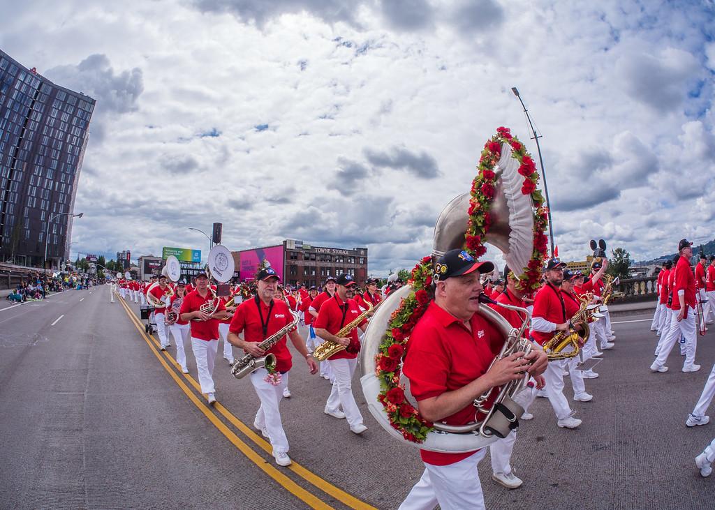 Rose Festival Parade, Portland - June, 11, 2016