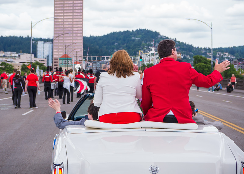 Rose Festival Parade, Portland - June, 11, 2016