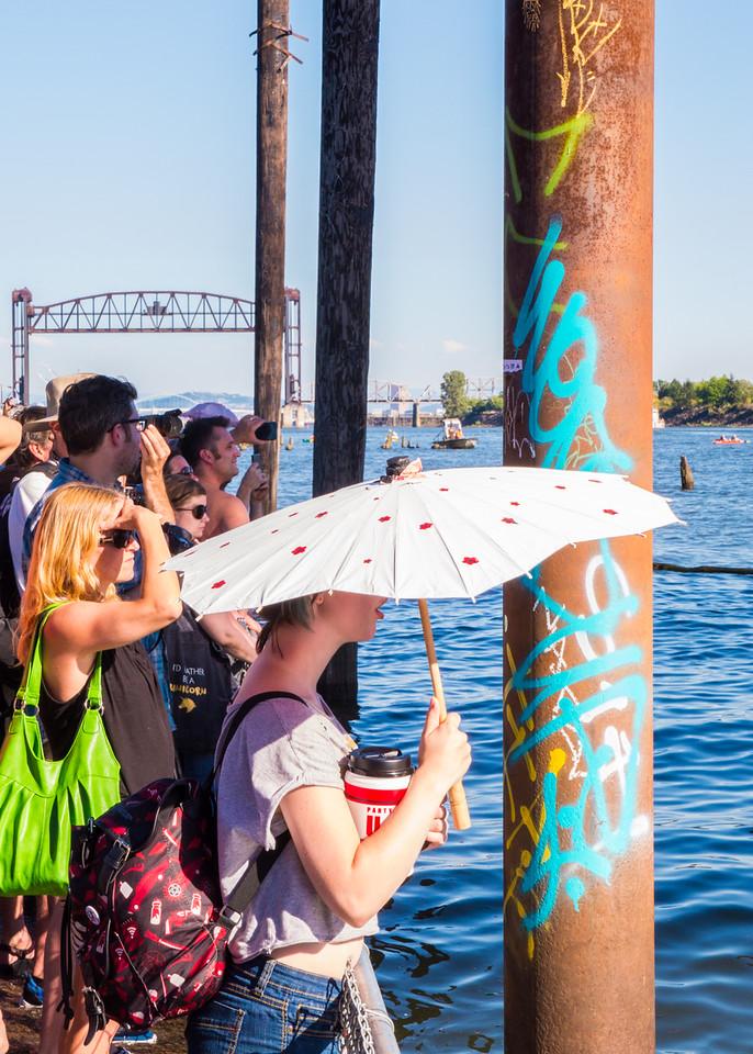 #ShellNo Greenpeace Action, Portland - July, 30, 2015