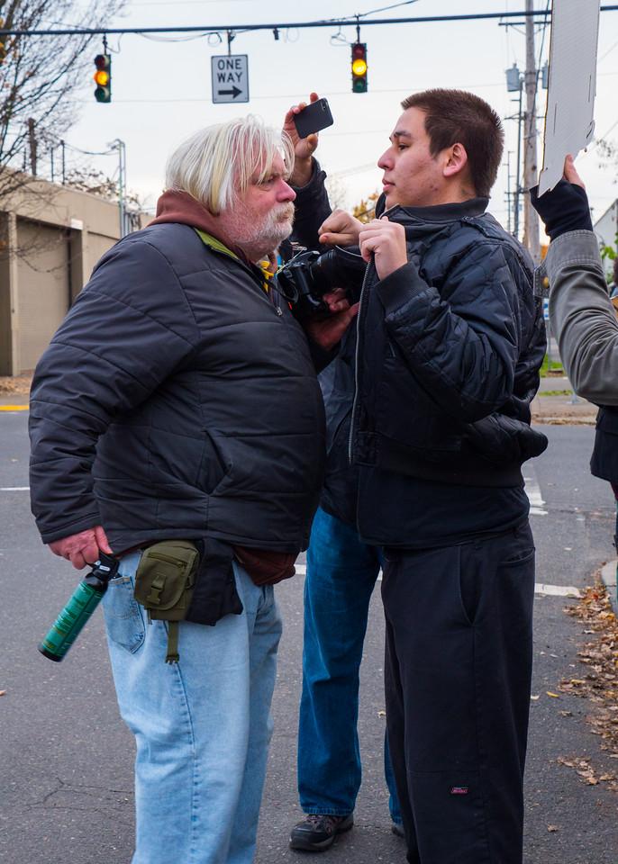 Tamir Rice Vigil, Portland - November, 22, 2015