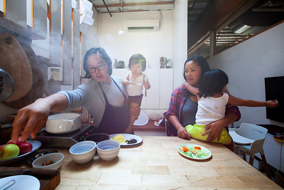 Chef Peter Cho and Family