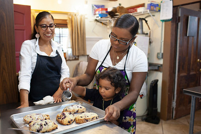 Chef Loretta Guzman and Family