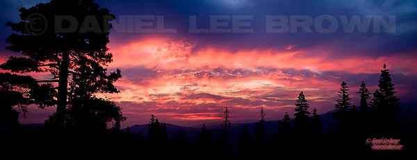 "Sunset in Placer co, CA. To purchase this or any other panoramic image, select ""none"" as your crop option at checkout."