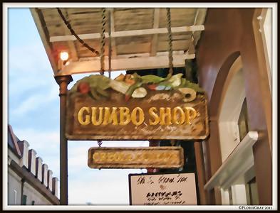 Gumbo Shop; NOLA
