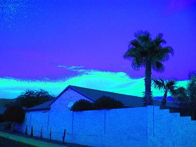 Sunset, Awatokee, AZ,  nov 17, 2007B