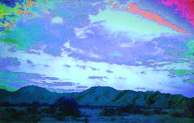 Gila Mountains, near Yuma, AZ, apr 1989SM2