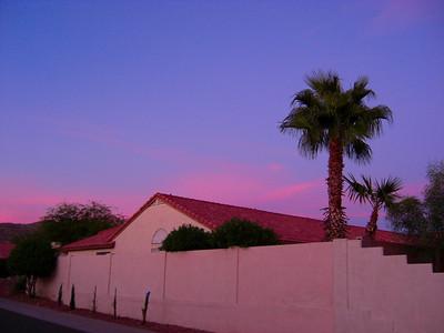 Sunset, Awatokee, AZ,  nov 17, 2007Cimg1376