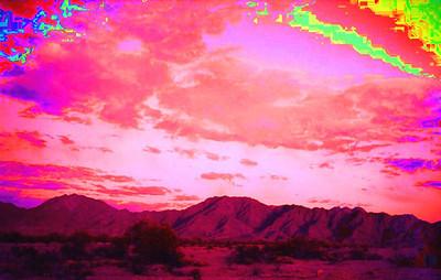 Gila Mountains, near Yuma, AZ, apr 1989SM1