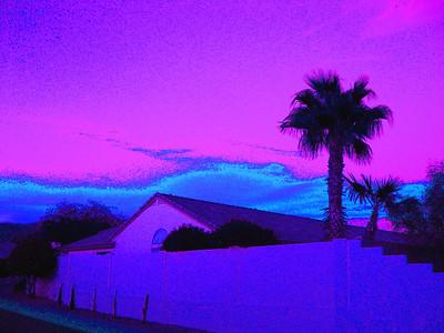 Sunset, Awatokee, AZ,  nov 17, 2007C
