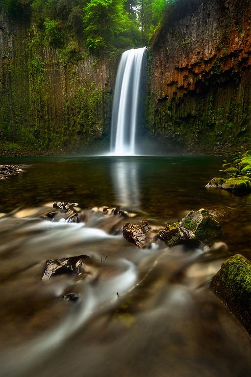 Photo of Abiqua Falls, Oregon