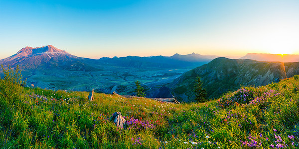 Mount St. Helens Panorama