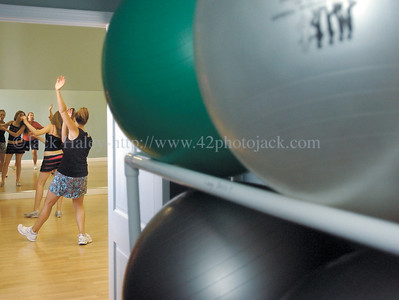 jhzumba4 - Exercise balls, have no place with Zumba. The  high pace, high engery dance with a latin beat is being done in Canandaigua.