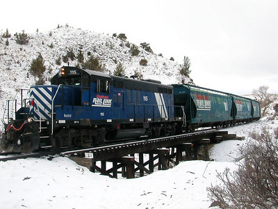 MRL 115 on the Harrison Branch