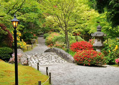 Japanese Gardens, Arboretum, Seattle, Washington