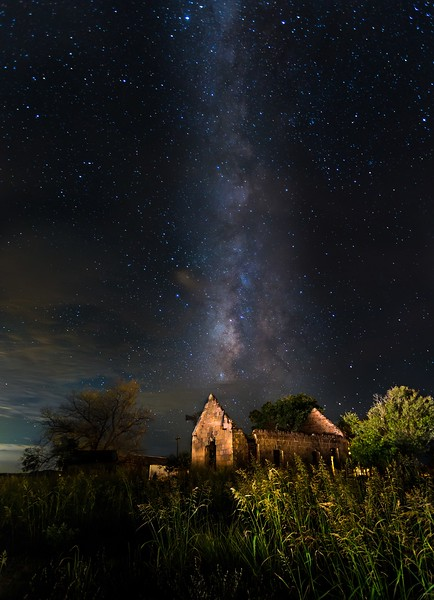 Another shot of the Milky Way in Pontotoc, Texas.