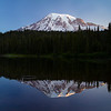 Reflection Lake again at dawn. I never found a lake in the park with a better reflection than this.