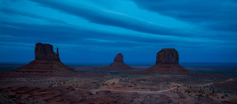 March 22, 2013 Monument Valley sunrise.