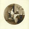 Woman typing, ca. 1910.  MP AP