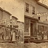 Main street, Parkers Landing, PA, ca 1880. Ptgrs: Copeland & West.  SC