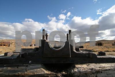 Mining Machinery, Bodie, CA