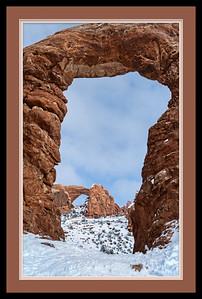 Window through Turret Framed