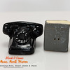 rotary telephone and directory salt and pepper shakers