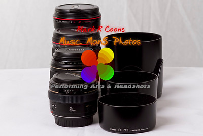 lenses and hoods   ©Music Man5 Photos