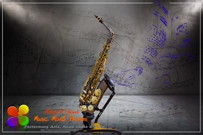 Sax on Stage