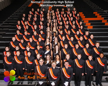 the 2013 Marching Ironmen
