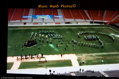 Watching the National Band Championships from Phoenix, AZ