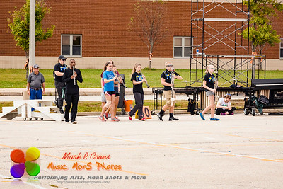 Clarinets in motion