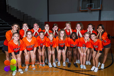 NCHS Colorguard 2010 on Photo Day