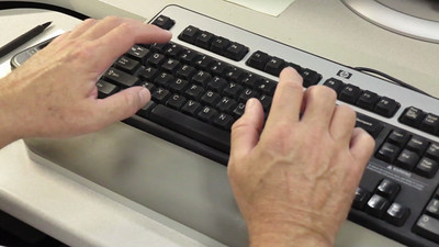 Master typist? Not likely.