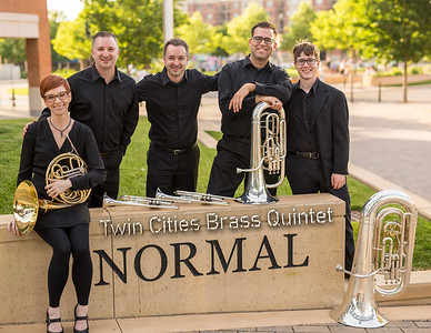 Another image from 2016 of the Twin Cities Brass Quintet. #markrcoons