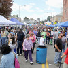Many came out to enjoy the day at the Johnny Appleseed Arts & Cultural Festival on Saturday in Leominster. SENTINEL & ENTERPRISE/ JOHN LOVE