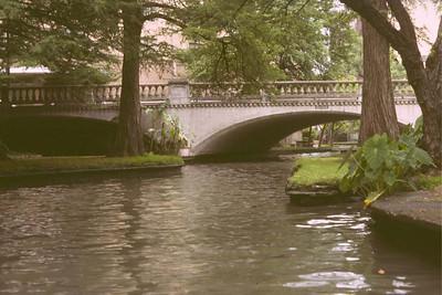 San Antonio riverwalk about 1980