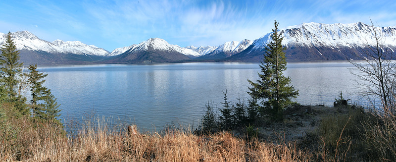 March 14, 2016.  Turnagain Arm panorama