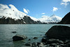 April 18, 2016.  Portage Glacier and Portage Lake