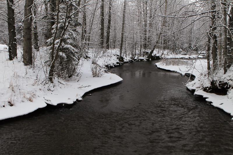 January 14, 2016.  Chester Creek