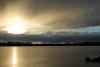 January 9, 2016.  Spenard Lake sunset